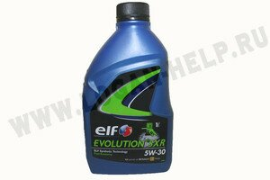 Масло моторное ELF EVOLUTION SXR 5W30 1л синтетика